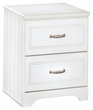 Signature Design Lulu Two Drawer Night Stand - Ashley Furniture B102-92