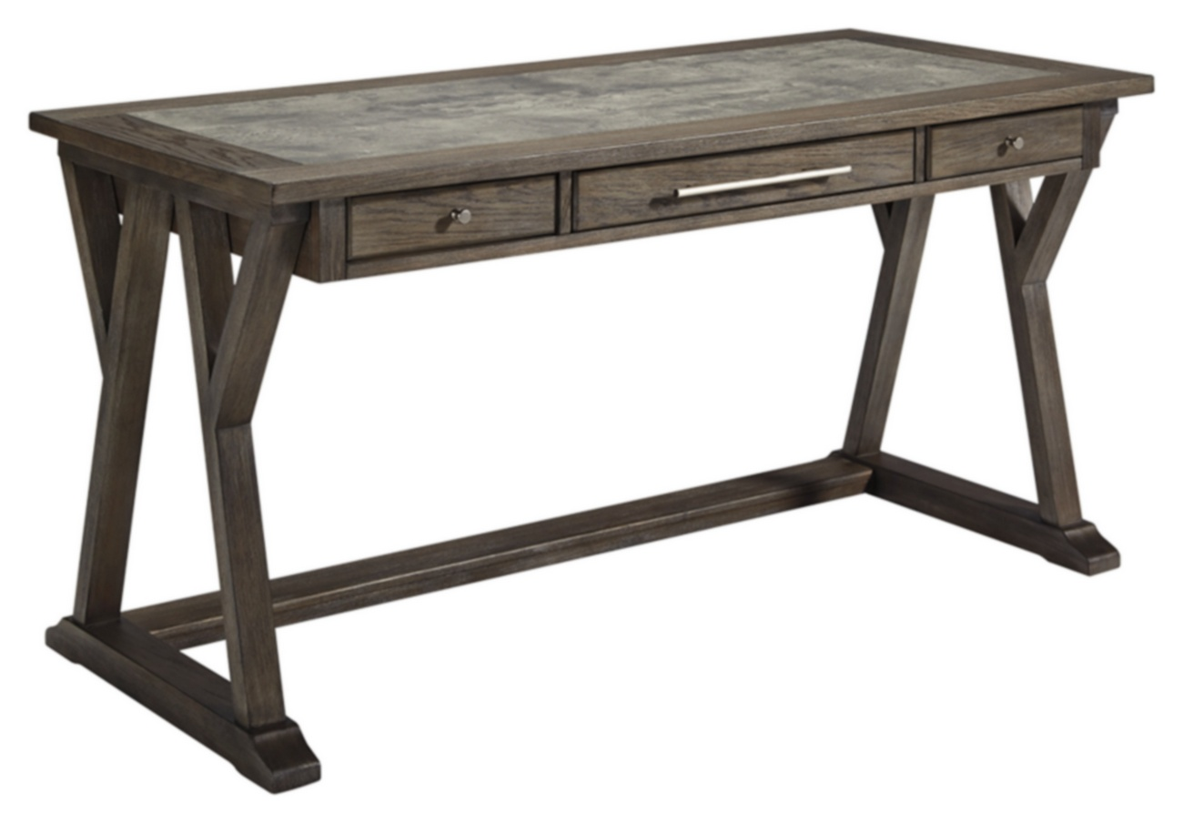 Signature Design Luxenford Home Office Large Leg Desk - Ashley ...