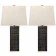 Signature Design Mahak Wood Table Lamp (Set of 2) - Ashley Furniture L327214