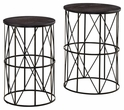 Signature Design Marxim Nesting End Tables (Set of 2) - Ashley Furniture T506-211