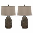 Signature Design Melvin Poly Table Lamp (Set of 2) - Ashley Furniture L243184