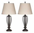 Signature Design Mildred Metal Table Lamp (Set of 2) - Ashley Furniture L201944