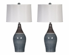 Signature Design Niobe Ceramic Table Lamp (Set of 2) - Ashley Furniture L123884