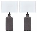 Signature Design Patience Ceramic Table Lamp (Set of 2) - Ashley Furniture L121844