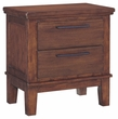 Signature Design Ralene Two Drawer Night Stand - Ashley Furniture B594-92