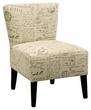 Signature Design Ravity Script Accent Chair - Ashley Furniture 4630160