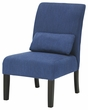 Signature Design Sesto Blue Accent Chair - Ashley Furniture A3000071