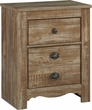Signature Design Shellington Two Drawer Night Stand - Ashley Furniture B336-92