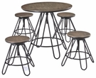 Signature Design Sonilyn Counter 5-Pc Table Set - Ashley Furniture D424-223