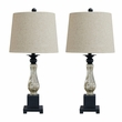 Signature Design Stephan Glass Table Lamp (Set of 2) - Ashley Furniture L431384