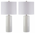 Signature Design Steuben Ceramic Table Lamp (Set of 2) - Ashley Furniture L177904