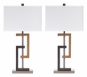 Signature Design Syler Poly Table Lamp (Set of 2) - Ashley Furniture L405284