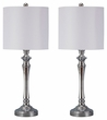 Signature Design Taji Metal Table Lamp (Set of 2) - Ashley Furniture L204004