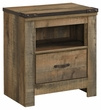 Signature Design Trinell One Drawer Night Stand - Ashley Furniture B446-91