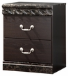 Signature Design Vachel Two Drawer Night Stand - Ashley Furniture B264-92