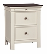 Signature Design Woodanville Two Drawer Night Stand - Ashley Furniture B623-92