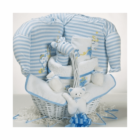 Baby Catch-A-Star Gift Basket for Boy