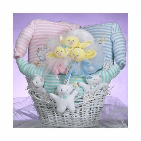 Baby Catch-A-Star Triplets Gift Basket