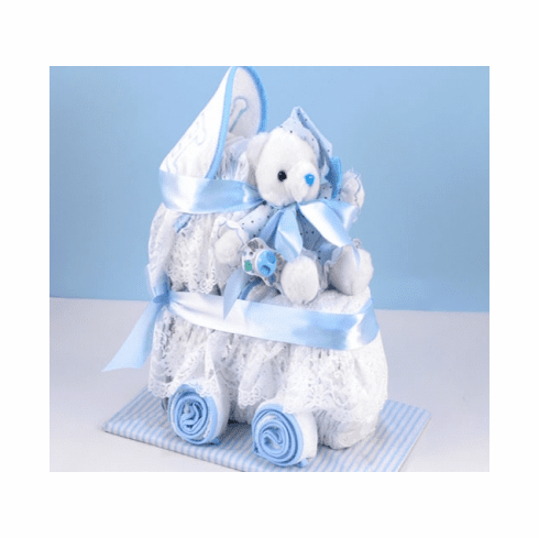 Baby Diaper Carriage (Boy)