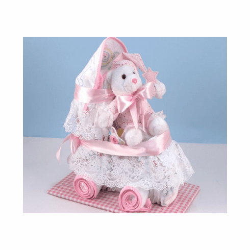 Baby Diaper Carriage (Girl)