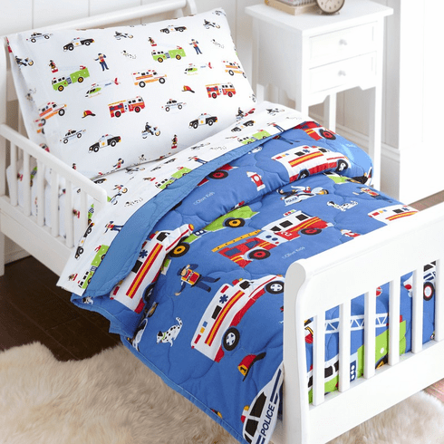 Heroes 4 pc Microfiber Bed in a Bag - Toddler