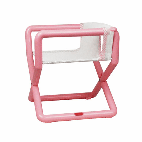Hoohobbers Personalized Jr. Director's Chair/Booster - Pastel (Mesh)