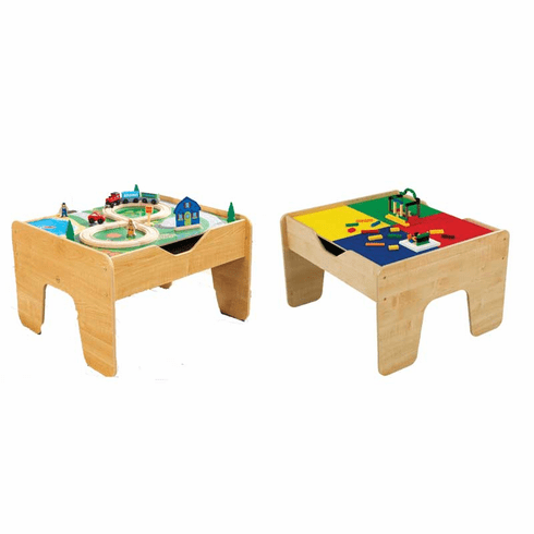 KidKraft 2 in 1 LEGO®-Compatible Activity Table