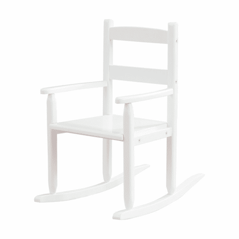 KidKraft 2-Slat Child Rocking Chair - White