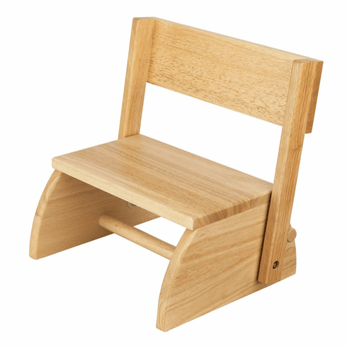KidKraft Child Flip Stool - Natural