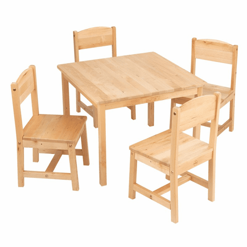 KidKraft Farmhouse Child Table And Chair Furniture Set