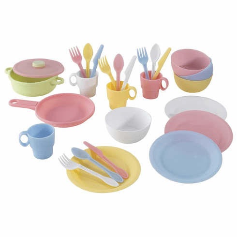 KidKraft Kitchen Cooking and Flatware Set - 27 Piece