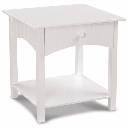 Kidkraft Nantucket White Child Night Stand