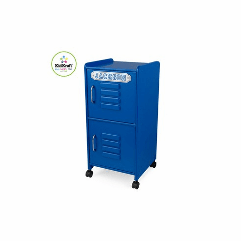Kidkraft Personalized Kids Storage Locker - Cobalt