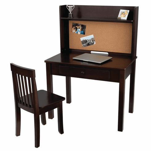 KidKraft Pinboard Desk w/ Hutch & Chair