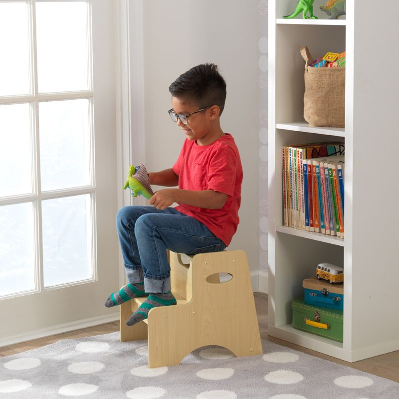 Kidkraft Two Step Child Stool Natural