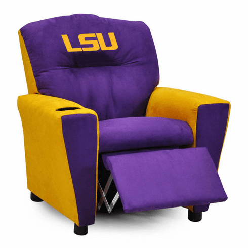 Kidz World LSU Tigers Kids Recliner
