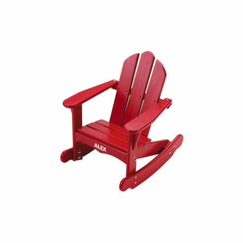 Little Colorado Personalized Child Adirondack Rocking Chair