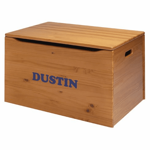 Little Colorado Personalized Toy Box