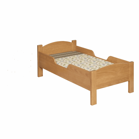 Little Colorado Wooden Toddler Bed - Traditional