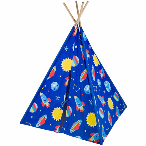Out of this World Canvas Teepee