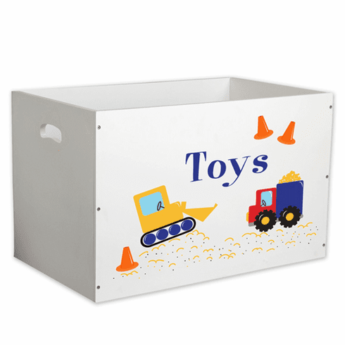 Personalized Open Toy Box