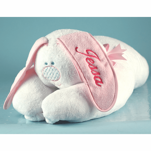 Personalized Snuggle Bunny Blanket (Girl)