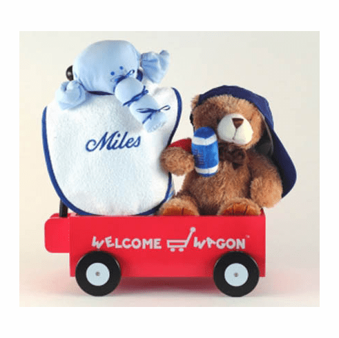 Personalized Welcome Wagon (Boy)