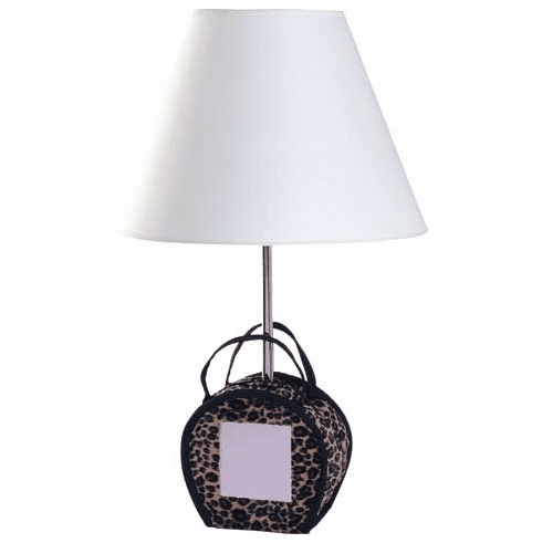 Purse with Mirror Lamp