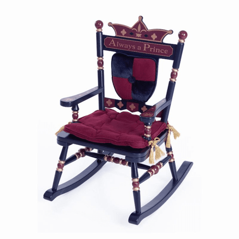 "Royal ""Prince"" Child Rocking Chair- Free Shipping"