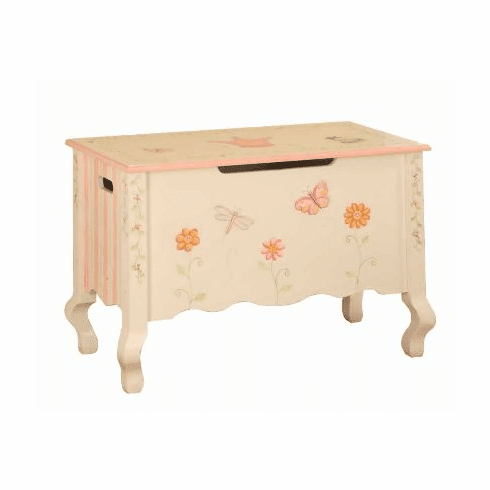 Teamson Child Toy Chest - Princess and Frog