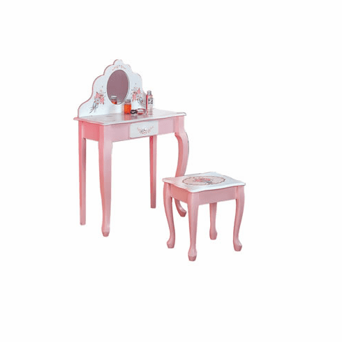 Teamson Child Vanity Table and Stool
