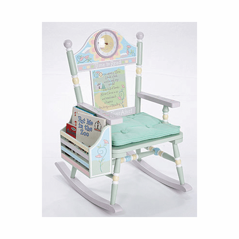 Time to Read Child Rocking Chair