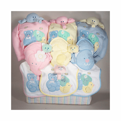 Triplets Deluxe Baby Gift Tote Bag