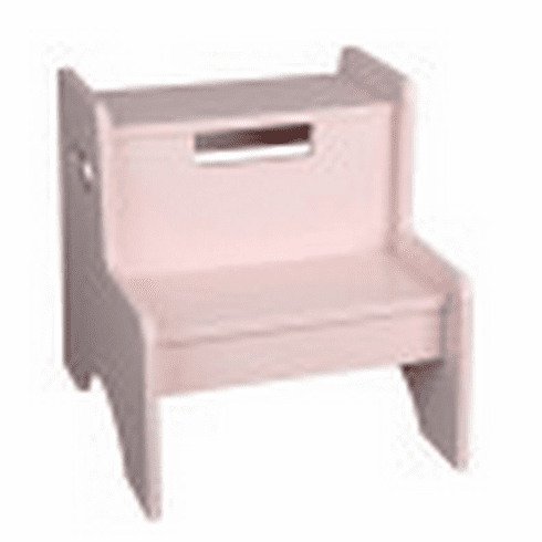 Two Step Stool - Pink